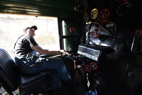 What is it like to ride the cab of Union Pacific No