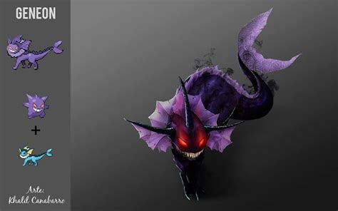 Pokemon fusion - Gengar Vaporeon if only they put this