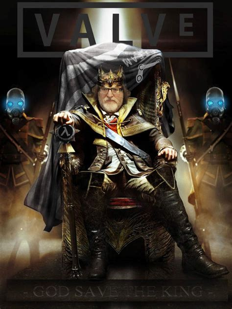 God Save The King | Gabe Newell | Know Your Meme