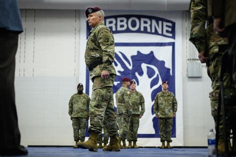 LaCamera takes command of Fort Bragg, 18th Airborne Corps
