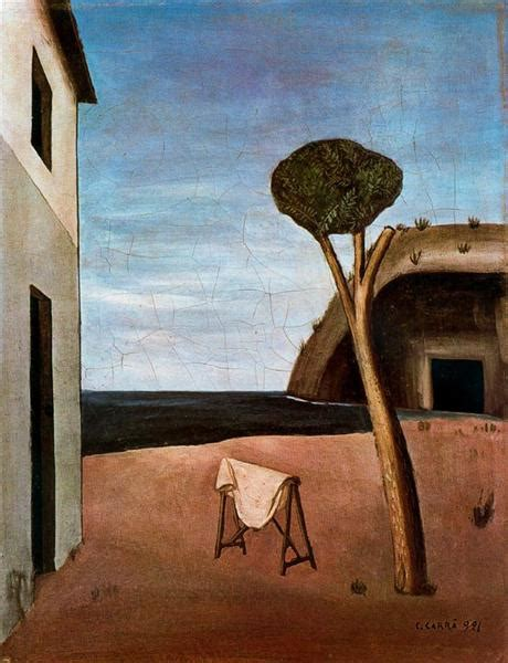 A Pine by the Sea, 1921 - Carlo Carra - WikiArt