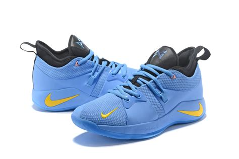 Nike PG 2 Light Blue and Yellow For Sale – New Jordans 2018