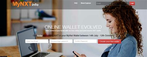 How To Use NXT Online Wallet • Newbium