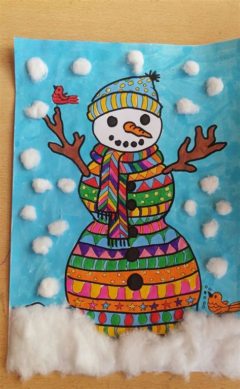 How to Make Snowman Craft for Kids? - Preschool and