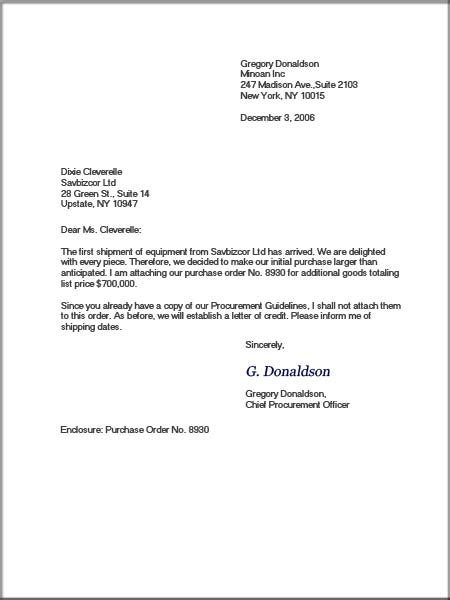 Let's go to the blog: Layout Of Business English Letter