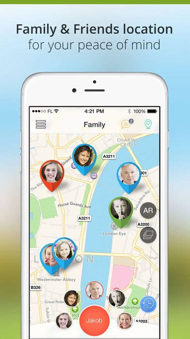 Family Locator and GPS Tracker iPhone App - App Store Apps