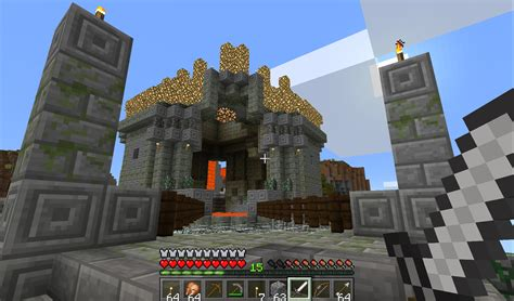 Minecraft Windows 10 screens show how the games looks