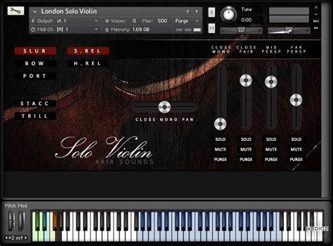 Download Aria Sounds LSS Solo Strings - Solo Violin
