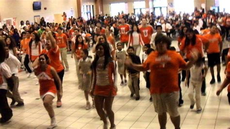 Let's Move Dance at United High School in Laredo Texas
