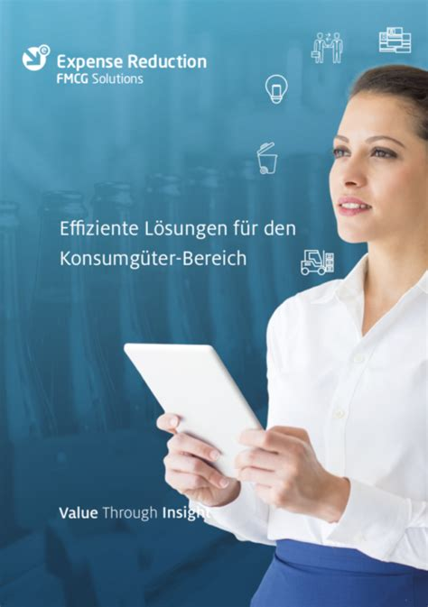 Solutions-Flyer Konsumgüter Cover – Expense Reduction Analysts