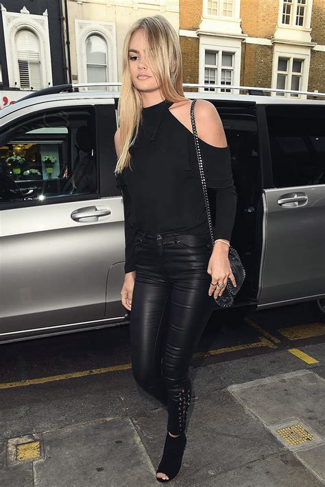Ella Ross attends the Lipsey London party - Leather