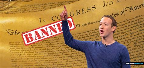 Facebook Decides That The Declaration Of Independence