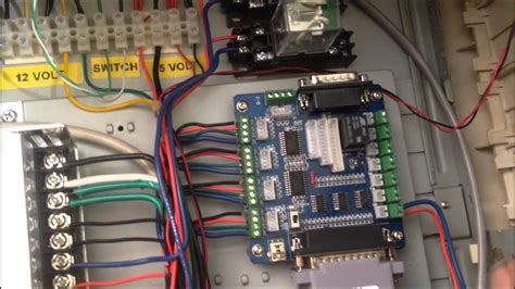 CNC Router Build 10 - Homemade CNC Router Control Box