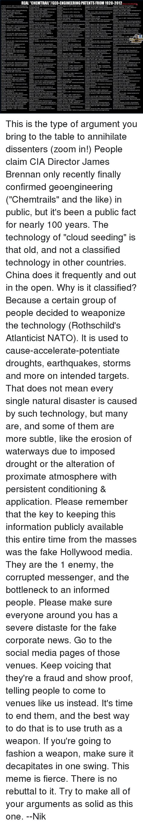 REAL CHEMTRAILGEO-ENGINEERING PATENTS FROM 1920-2012 Ing