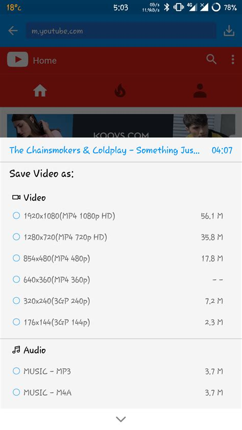 KeepVid Android Review – YouTube to MP3 video Downloader