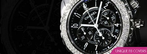 Chanel Diamond Watch Facebook Covers | Watches Fb Cover