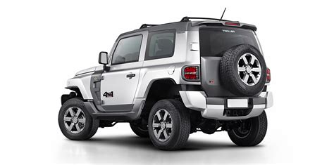 New Ford Troller T4 is a Brazilian-born Jeep Wrangler