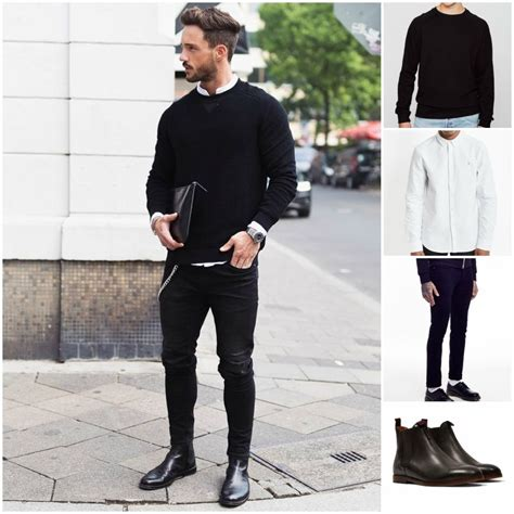 How to Wear Chelsea Boots and Jeans | Black chelsea boots