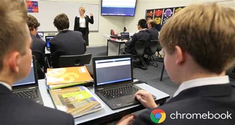 Google engaged in making Chromebooks constructive for schools