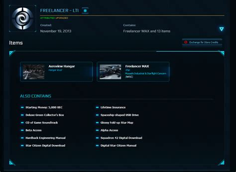 Freelancer - LTI + MAX Upgrade (LTI Physical Package