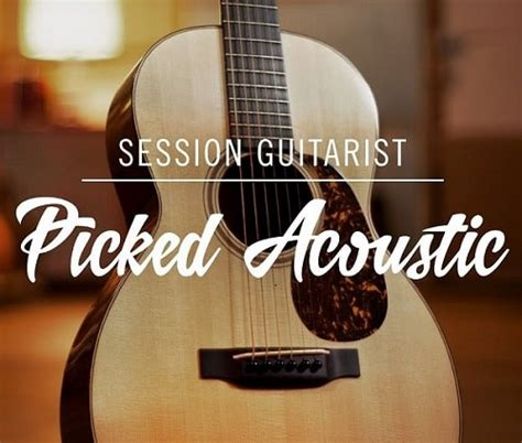 NI Session Guitarist Picked Acoustic Kontakt Library