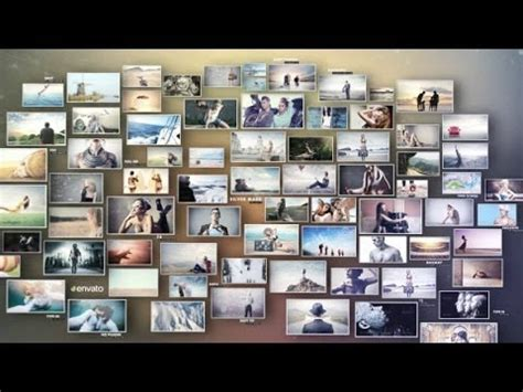 3D Photos Slideshow (After Effects Template) - YouTube