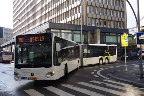 Luxembourg Mercedes Citaro Capacity L N° SL 3481 Voyages S