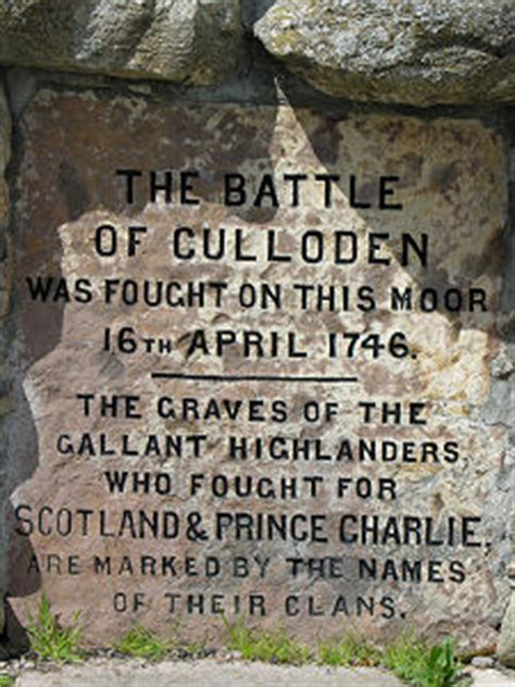 Culloden Feature Page on Undiscovered Scotland