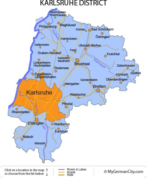 The Karlsruhe District Is An Idyllic Area