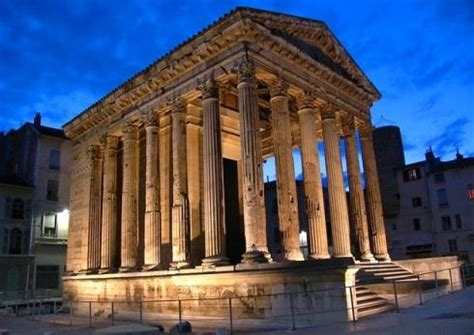 """""""The Temple of Augustus and Livia, built at the end of the"""
