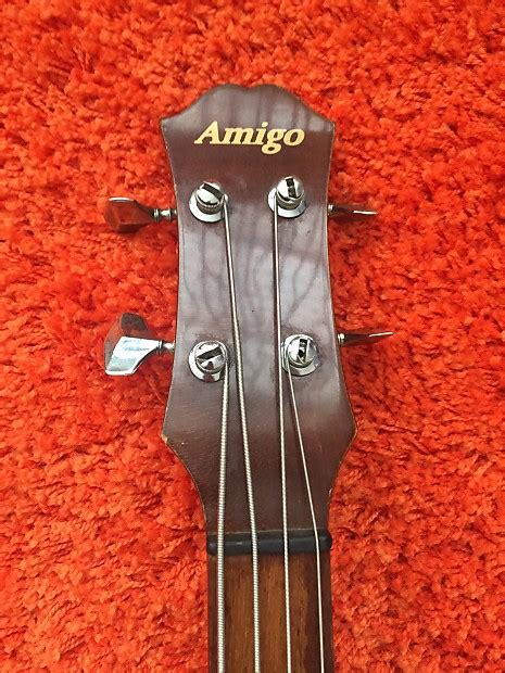 Vintage Lotus Amigo Acoustic Electric Bass 80's Made In