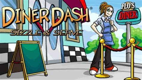 Diner Dash Sizzle And Serve PSP ISO - Download Game PS1