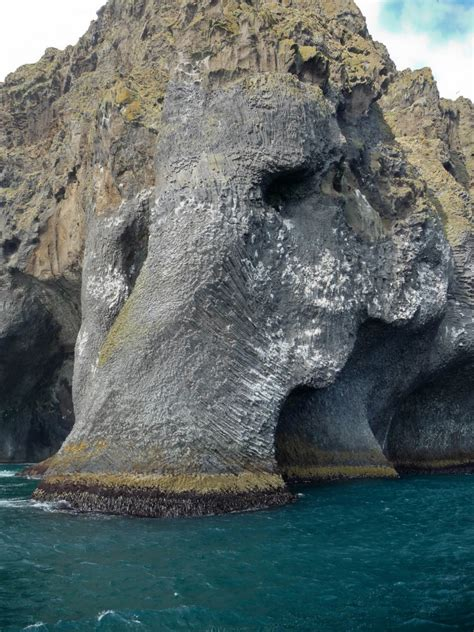 An Amazing Rock Formation On an Icelandic Island That